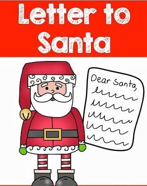 Letter to Santa picture