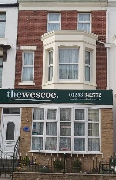 wescoe guest house blackpool